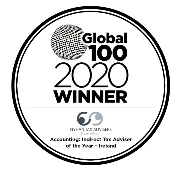 Global 100 - 2020 award logo Nyhan Tax Advisers_sig